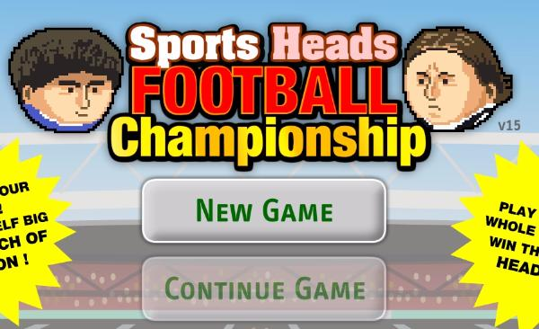 Sports Heads Football